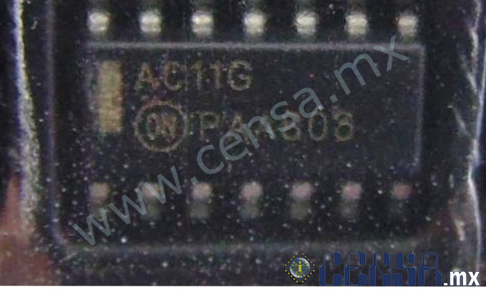 AC11G IC GATE AND 3CH 3-INP 14-SOIC