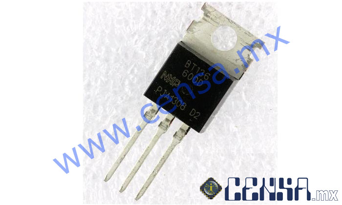 BT136-600D  | Triac sensible 4A 600V (T0000661)