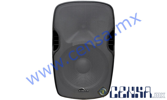 ASK-15 Bafle  Amplificado Plastificado trapezoidal de 3500W PMPO