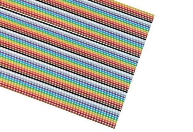 3302/64-100ft ROLLO DE 100 PÍES CABLE PLANO MULTICOLOR 64 VÍAS