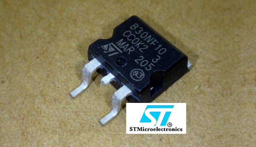 STB30NF10T4 | MOSFET CANAL N 100V 35A D2PAK