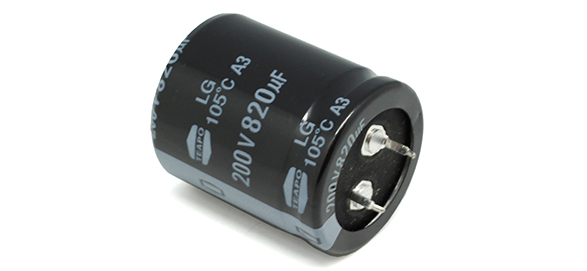 LG 820/200 CAPACITOR ELECTROLÍTICO 820UF 200VCD