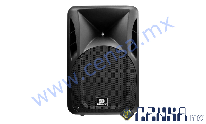 D15ST Bafle amplificado plastificado de 4500 Watts PMPO