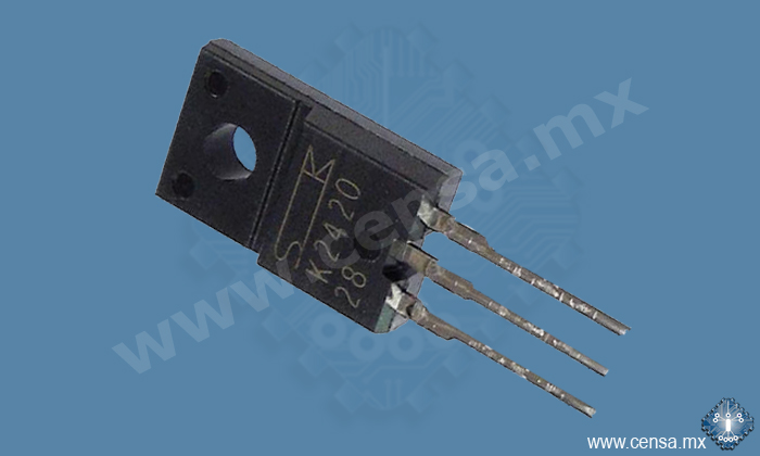 2SK2420 MOSFET N-CH 60V 30A TO-220F