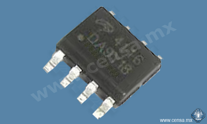 4116 MOSFET CANAL N 25V 15A SOIC 8
