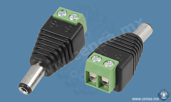PC-5.5/2.1-CCTV CONECTOR MINI PLUG CCTV