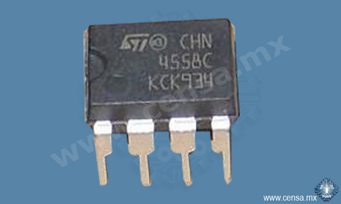 MC4558CN | CIRCUITO INTEGRADO OP AMP 8DIP