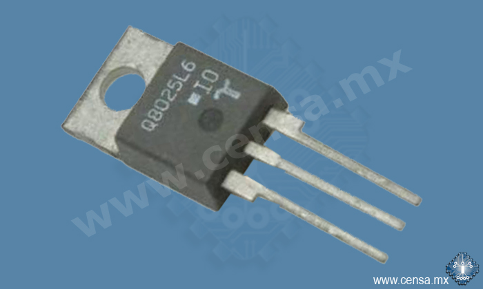Q8025L6 TRIAC ALTERNISTOR 800V 25A TO220