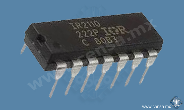 IR2110PBF CTO. INTEGRADO DRIVER HIGH/LOW SIDE 14DIP